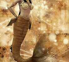 Persian Mermaid by InfinityRain