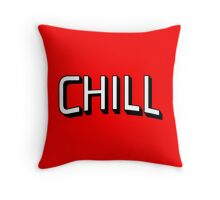 Chill - Netflix Throw Pillow
