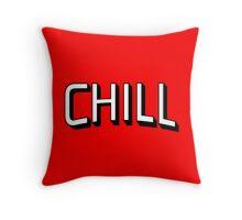 Chill - Netflix Throw Pillow