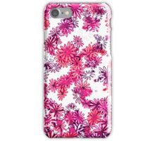 retro flower power pattern iPhone Case/Skin