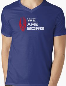 We are Borg Mens V-Neck T-Shirt