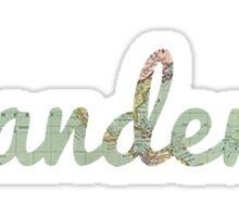 Wanderer Sticker