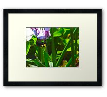 Hunger is the food of invention Framed Print