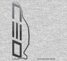 Club Evo Owners - Large Logo (Gun Metal) by James Love