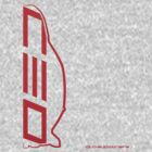 Club Evo Owners - Large Logo (Red) by James Love