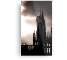 """Gothic Castle"" Metal Print"