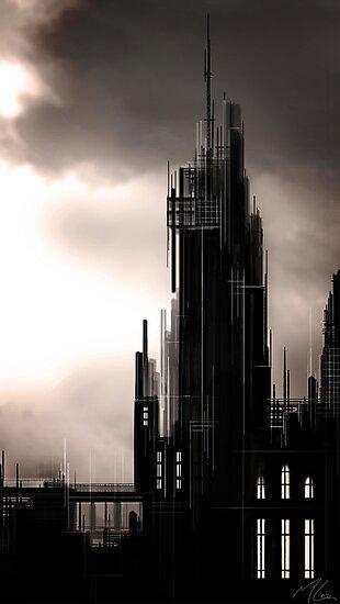 """Gothic Castle"" by Micah Samter"