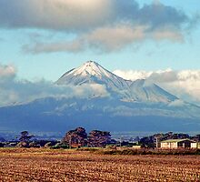 Mount Taranaki by Anthony Woolley