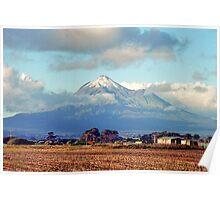 Mount Taranaki Poster