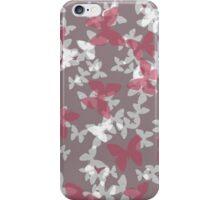 sketchy butterflies iPhone Case/Skin