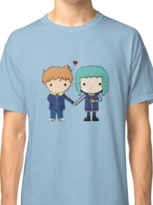 Scott Pilgrim - Scott and Ramona Classic T-Shirt