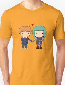 Scott Pilgrim - Scott and Ramona T-Shirt