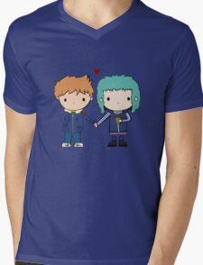 Scott Pilgrim - Scott and Ramona Mens V-Neck T-Shirt