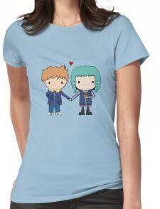 Scott Pilgrim - Scott and Ramona Womens Fitted T-Shirt