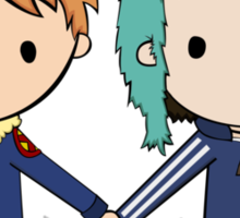 Scott Pilgrim - Scott and Ramona Sticker