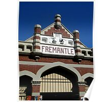 Fremantle Market Building Poster