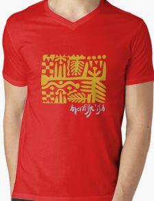 wearable art Matisse fake Mens V-Neck T-Shirt