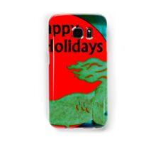 Christmas Mermaid - Happy Holidays Samsung Galaxy Case/Skin