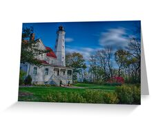 Lighthouse in the Park Greeting Card
