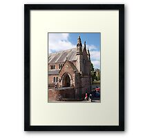 Sunday at Ness Bank Church Framed Print