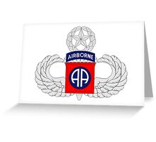 82nd Airborne Master Greeting Card