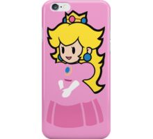 Minimalist Princess Peach iPhone Case/Skin