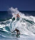 North Shore Surfers 2 by Alex Preiss