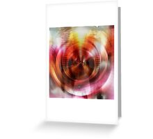 Radial Cluster Greeting Card