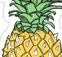 Yellow Pineapple Print Sticker