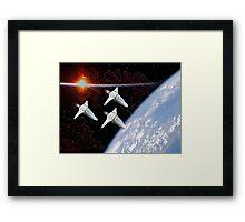 Starfighters Framed Print
