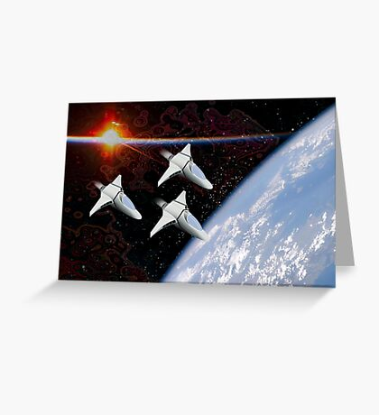 Starfighters Greeting Card
