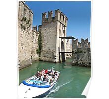 moat around Sirmione Poster