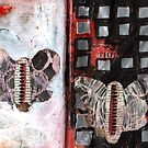 Altered Book 36 by zoe trap