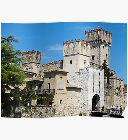 castle Sirmione Poster