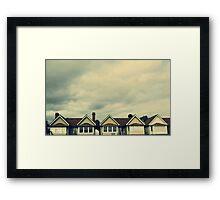 Beach Rentals Framed Print