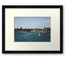 Marina del Rey Framed Print