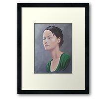 Miss Le Framed Print