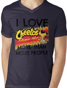 Hot Cheetos Mens V-Neck T-Shirt