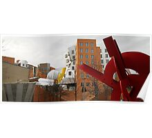 MIT Stata Center, Frank Gehry Poster