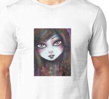 Big Eyed Girl Unisex T-Shirt