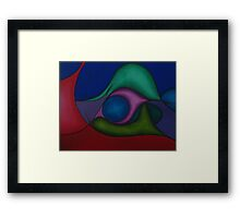 Exclamation Landscape II Framed Print
