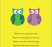 Owl Twins by Belle Farley