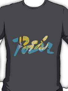 illegible vintage graffiti  T-Shirt