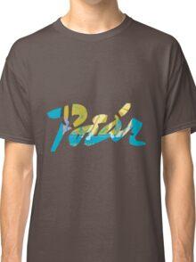 illegible vintage graffiti  Classic T-Shirt
