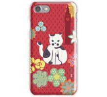 Cat and Big Ben iPhone Case/Skin