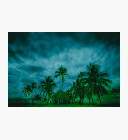 Paradise storm Photographic Print
