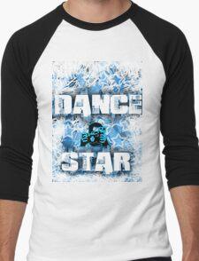 Dance Star Men's Baseball ¾ T-Shirt