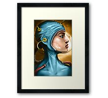 Untitled coloured Framed Print