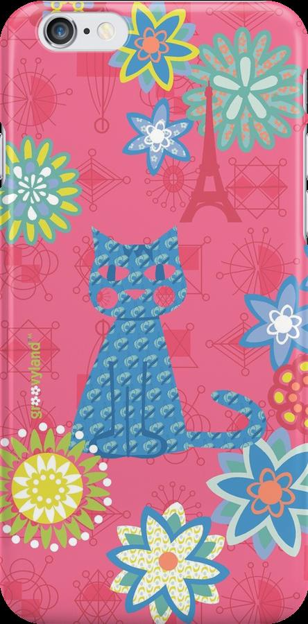 Blue Cat in Paris by contourcreative