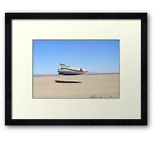 Desert Landing Framed Print